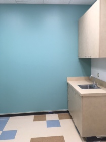 exam room, medical office, TI, tenant improvement, Dowling Construction