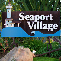 seaport village, redevelopment, san diego, tourism